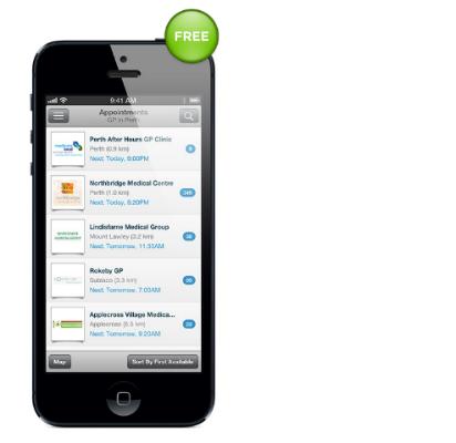 HealthEngine mobile app