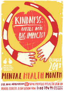 Mental Health Month Kindness